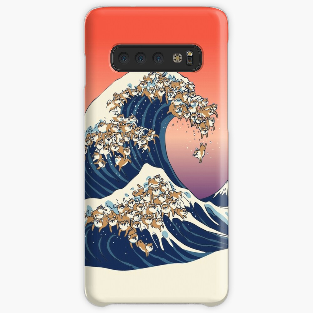 The Great Wave of Shiba Inu Case & Skin for Samsung Galaxy