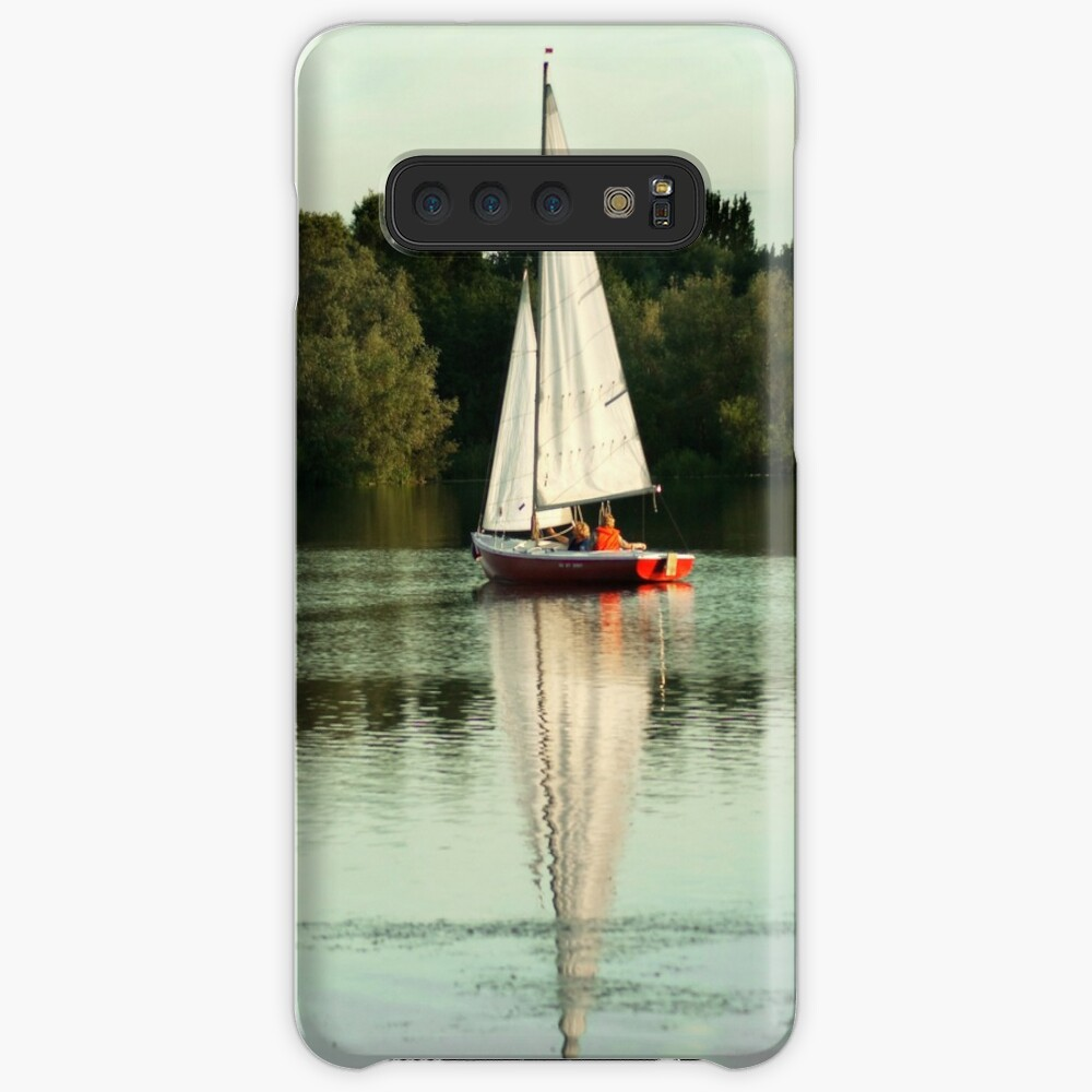 A beautiful sailing evening on the lake Case & Skin for Samsung Galaxy