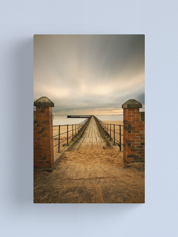Alternate view of Pier entry Canvas Print