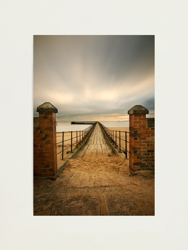 Alternate view of Pier entry Photographic Print