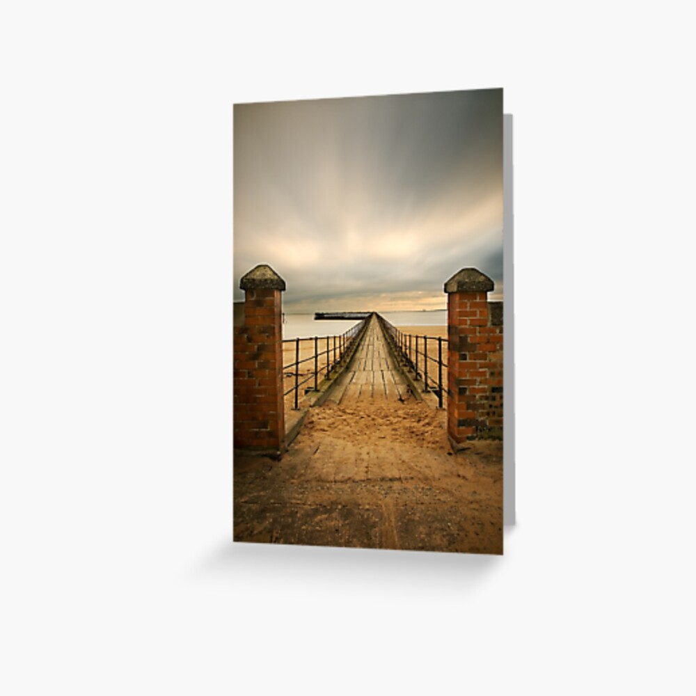 Pier entry Greeting Card