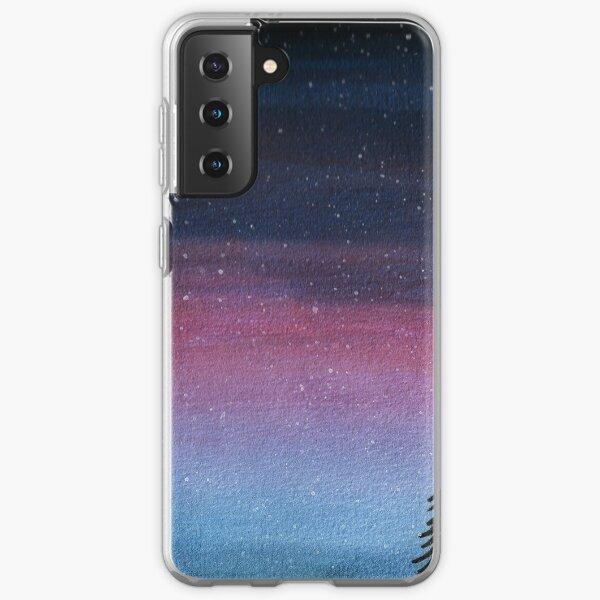 Snowy Night Sky Samsung Galaxy Soft Case