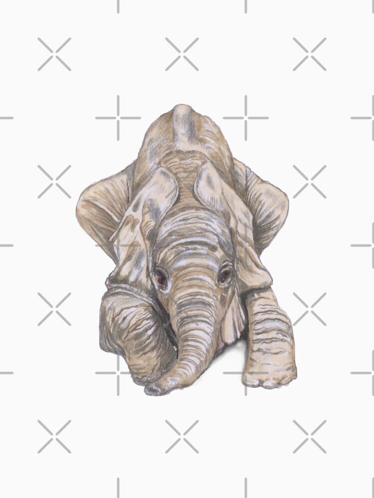 Elefant - jung und verspielt von kayemonck