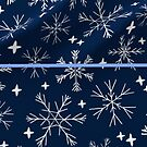 winter snowflake pattern by Rachel Lawson