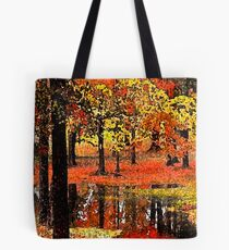 Silent Reflection Tote Bag