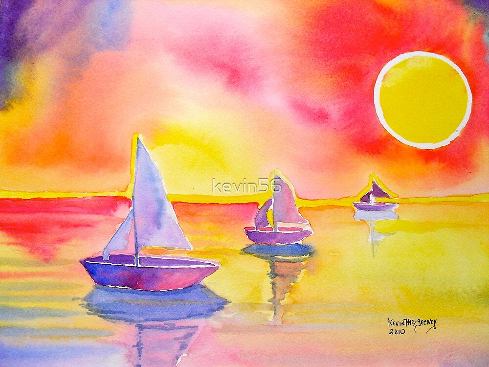 come sailing with me by Kevin McGeeney