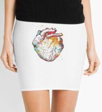 Heart Anatomy Art Mini Skirt