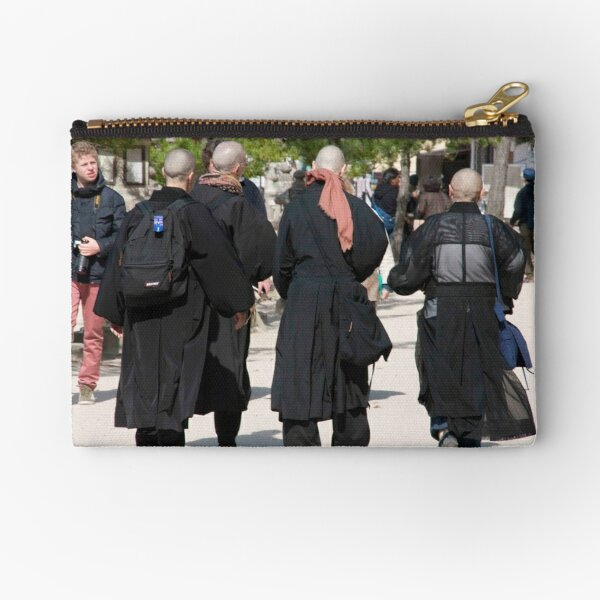 Miyajima Monks Zipper Pouch