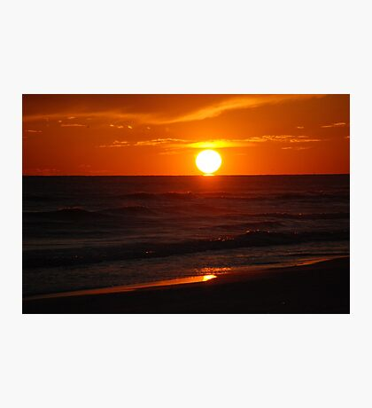 Gulf Sunset Photographic Print