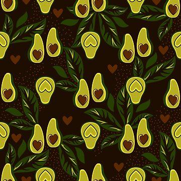 Avocado Changeling by InnaQueen