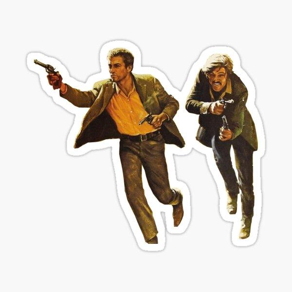Butch Cassidy y el Sundance Kid Pegatina