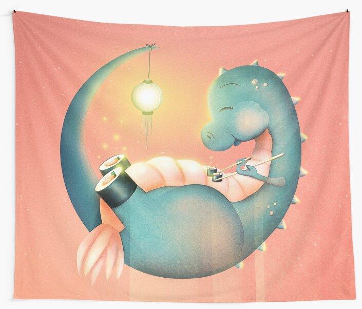 Sushi Dinosaurier von schwebewesen