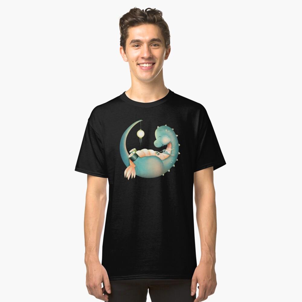 Sushi Dinosaurier Classic T-Shirt Vorne