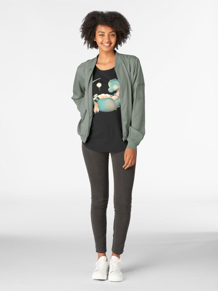 Alternative Ansicht von Sushi Dinosaurier Frauen Premium T-Shirt