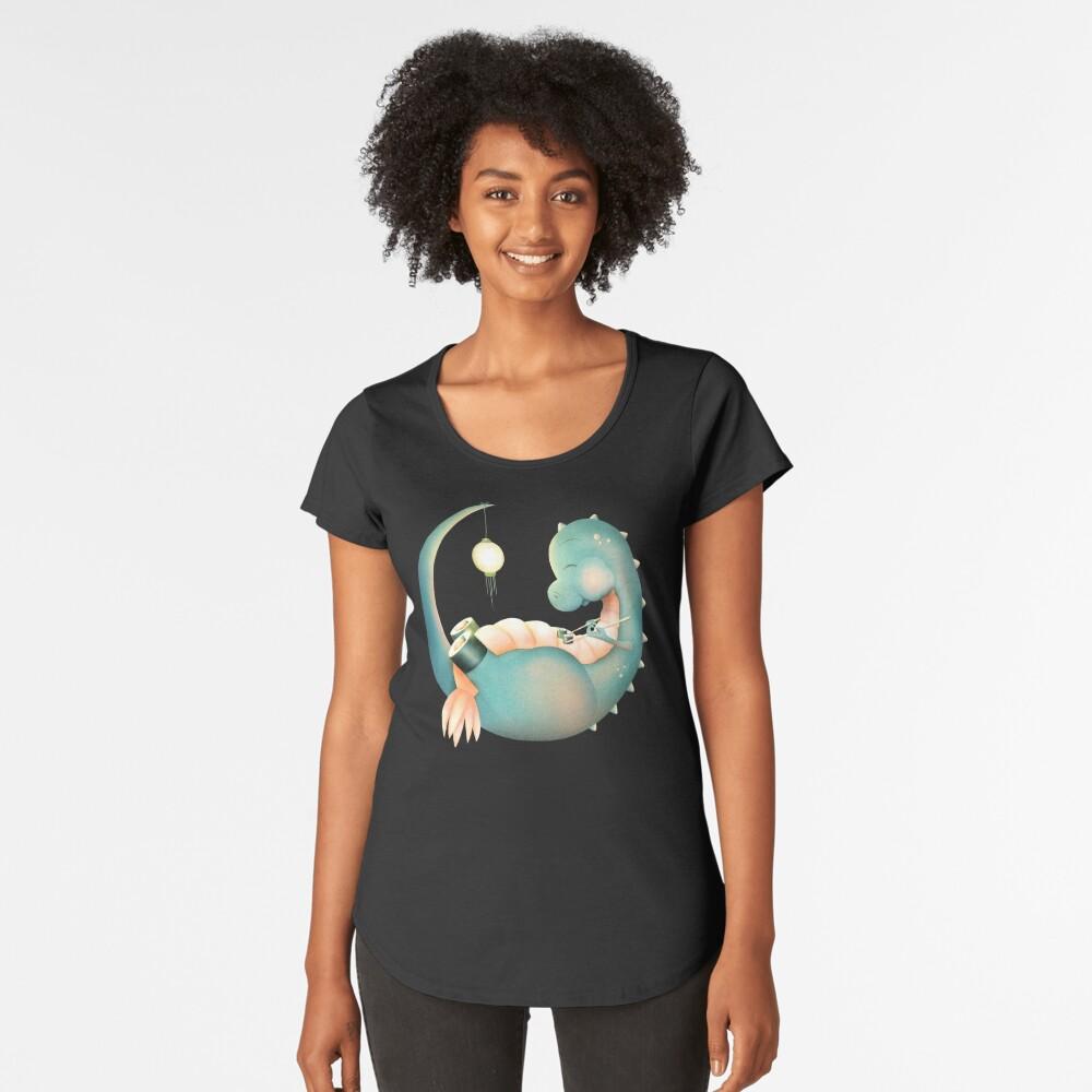 Sushi Dinosaurier Frauen Premium T-Shirt Vorne
