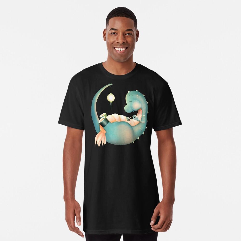 Sushi Dinosaurier Longshirt Vorne