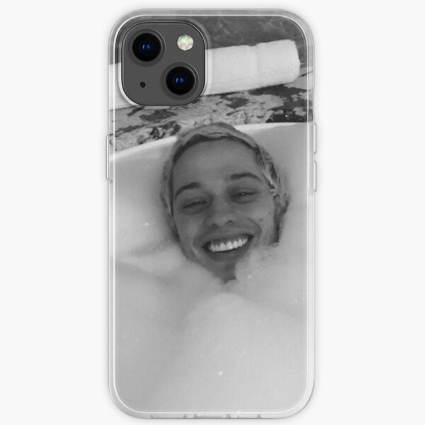 pete davidson in bath iPhone Soft Case