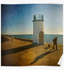 Jetty Shadows Poster