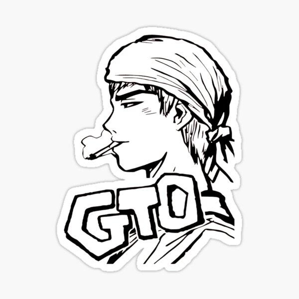 GTO Onizuka Eikichi Sticker