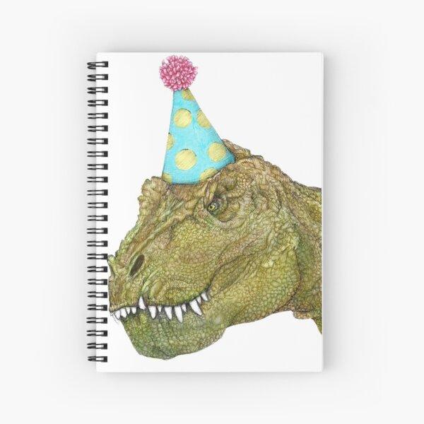 Party Dinosaur Spiral Notebook