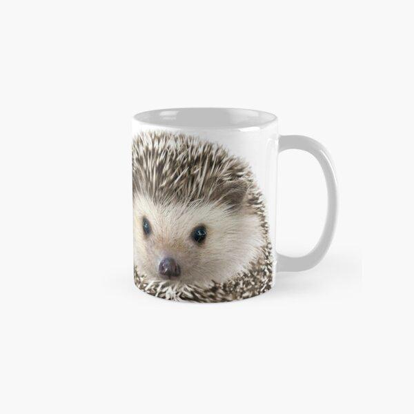 Hedgehog Portrait Classic Mug