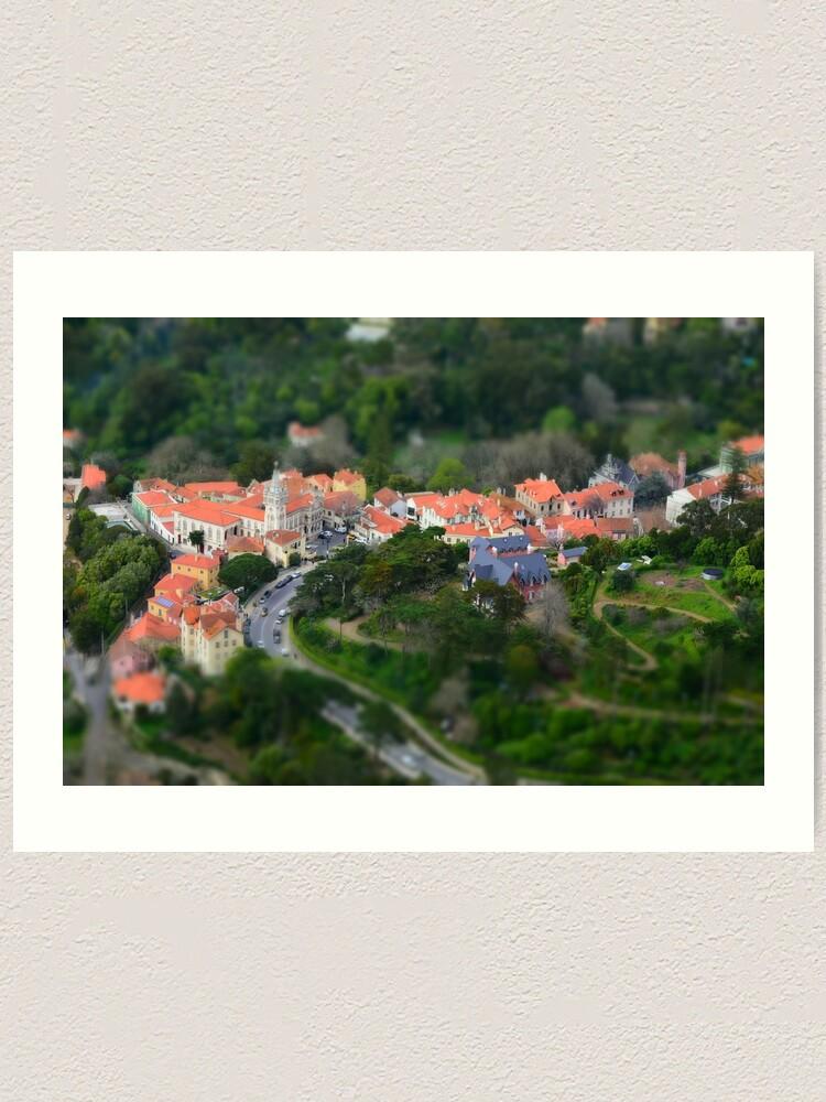 Alternate view of Sintra; Portugal Art Print