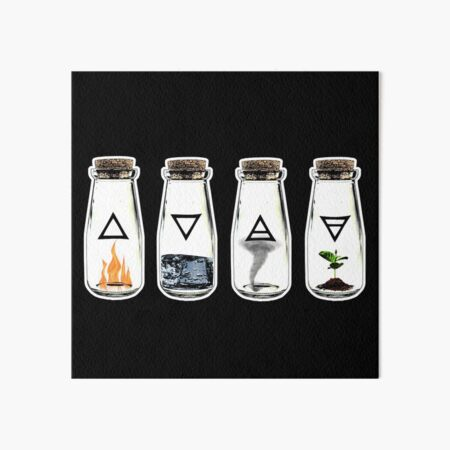 Los 4 elementos Lámina rígida