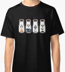 Camiseta clásica Los 4 elementos