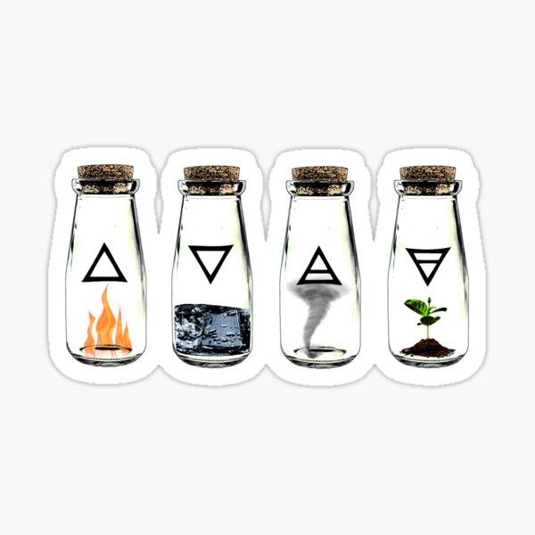 The 4 Elements Sticker