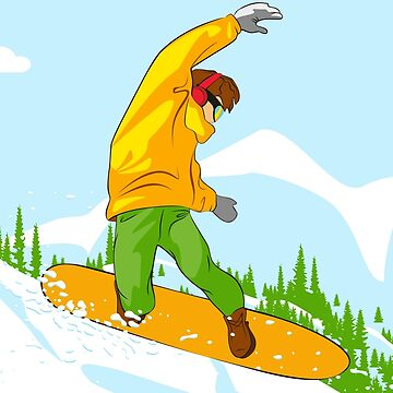 Snowboarder II by lents
