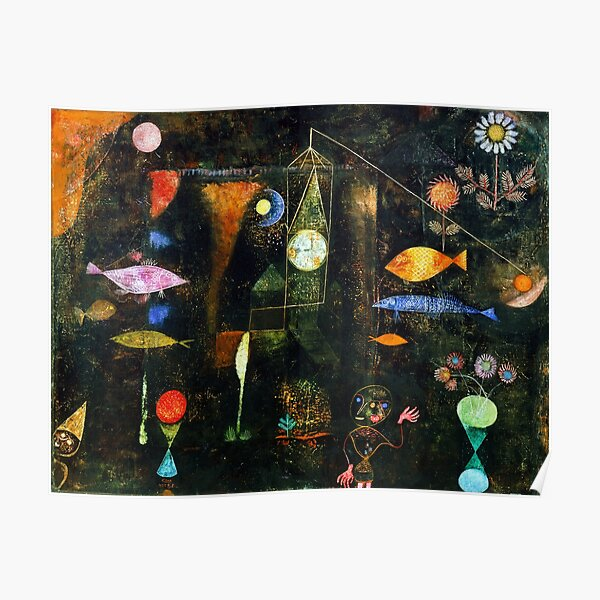 Fish Magic, Paul Klee Poster