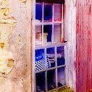 Shop window in a restored barn..... by DaveHrusecky