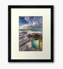 Emerald Pools Noosa Framed Print