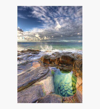 Emerald Pools Noosa Photographic Print