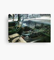 Co Pilot accounted for Canvas Print