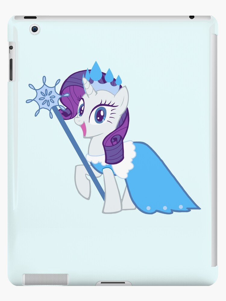 Queen Rarity Frostine by AriesNamarie