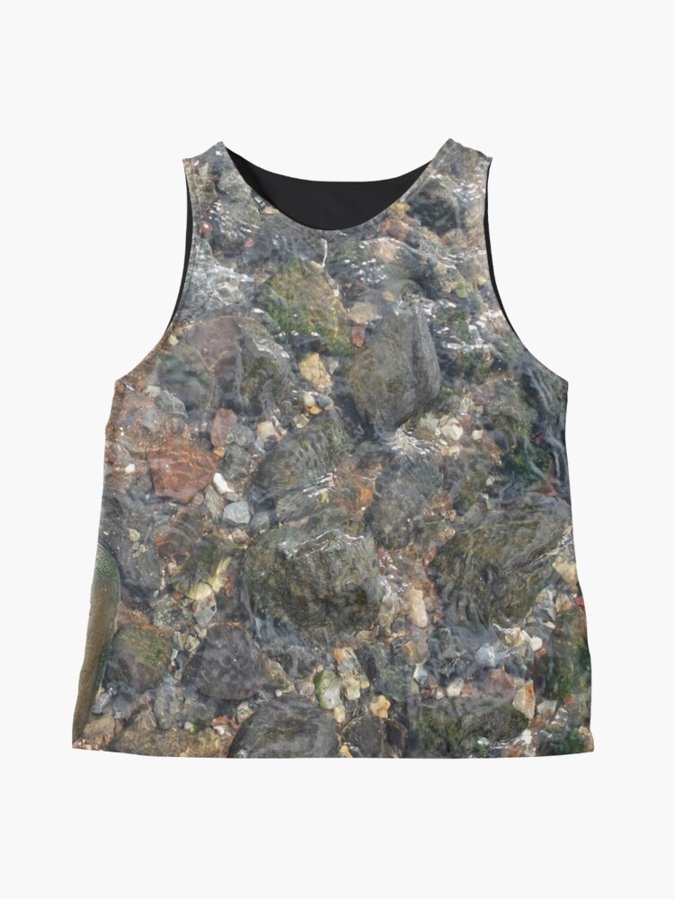Alternate view of #geology #stone #nature #water #rough #outdoors #abstract #pattern #vertical #rockobject #textured #nopeople #planetearth #colors #day Sleeveless Top