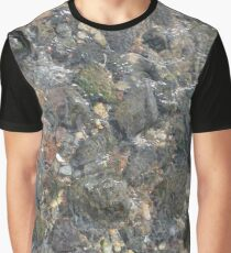 #geology #stone #nature #water #rough #outdoors #abstract #pattern #vertical #rockobject #textured #nopeople #planetearth #colors #day Graphic T-Shirt