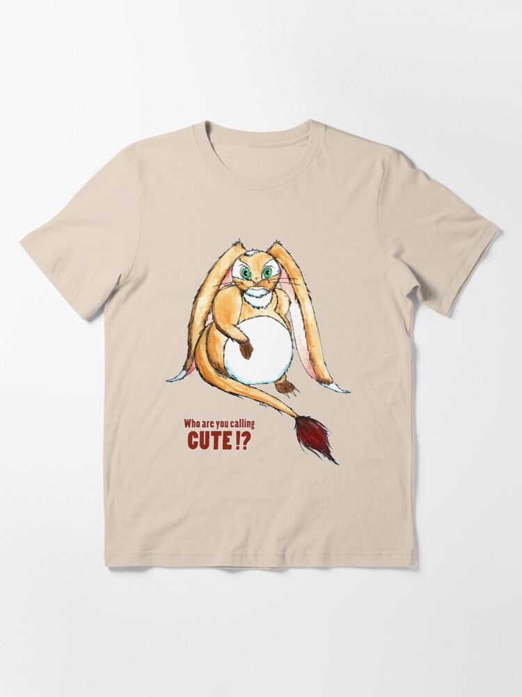 Alternate view of Who are you calling CUTE !? Essential T-Shirt