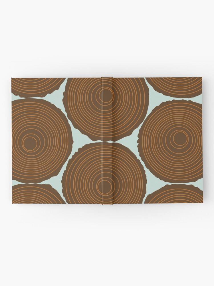 Alternate view of Whimsical Wood Stack Hardcover Journal