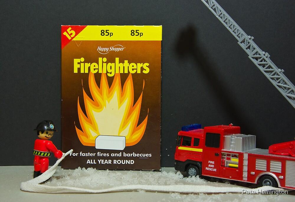 Lego fireman to the rescue by peteton