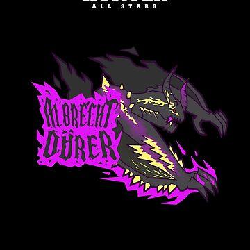 Monster Hunter All Stars - Albrecht Durer by bleachedink