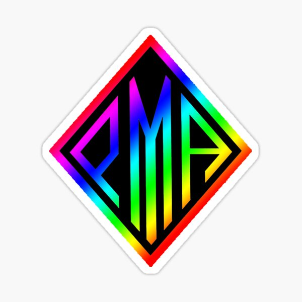 PMA Sticker - Rainbow Sticker