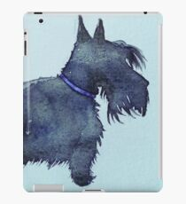 Scottie watercolour (blue) iPad Case/Skin