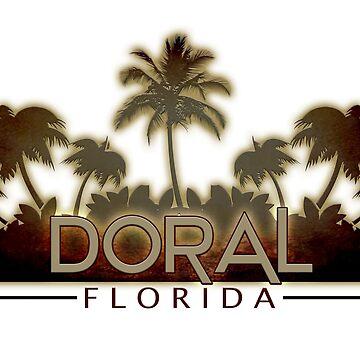Doral Florida palm trees by artisticattitud