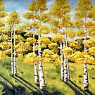 Aspen Trees by Julie Ann Accornero