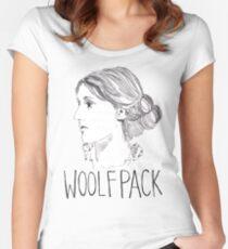 Virginia Woolfpack Women's Fitted Scoop T-Shirt