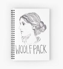 Virginia Woolfpack Spiral Notebook