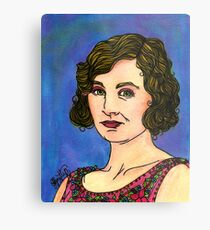 Lady Edith Metal Print