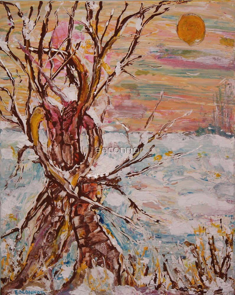 Eternal Embrace of Love   16x20 acrylic on canvas by eoconnor